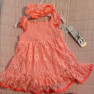 Other - NWT! Daisy Fuentes baby girl dress 3/6 months